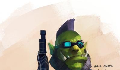 魔兽世界玩家作品:星际小兽猎帅气的猎人