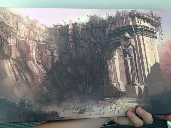 魔兽世界电影黑暗之门效果图:简直大气宏伟!