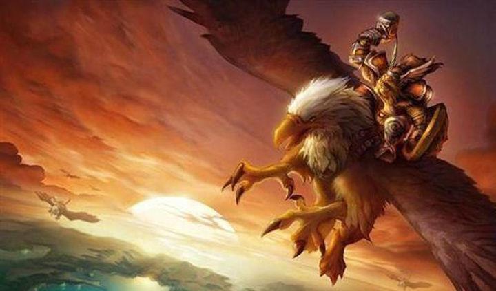 魔兽世界矮人狮鹫骑士故事:翱翔天际的真勇士